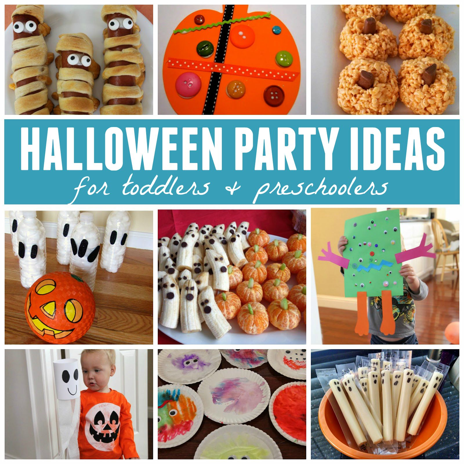 Toddler Approved!: Last Minute Halloween Party Ideas