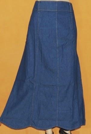 Rok Jeans Fashion Bawah Gelombang RM306
