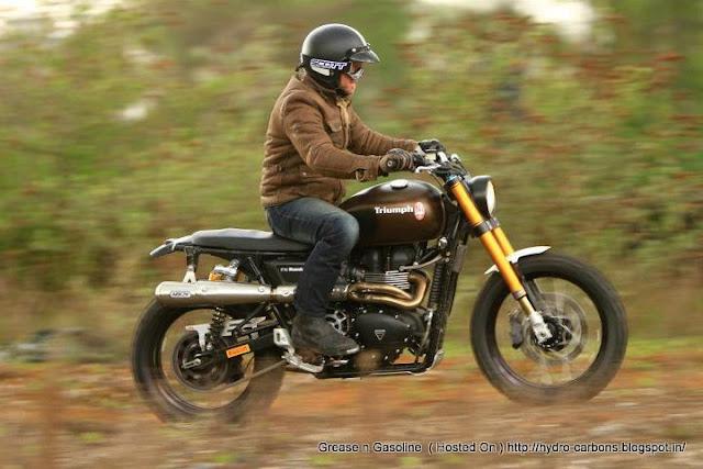 Triumph Tridays Rumbler | Triumph Scrambler | Custom Triumph Scrambler | Triumph Scrambler Custom | Triumph Scrambler Exhaust | Scrambler Seat