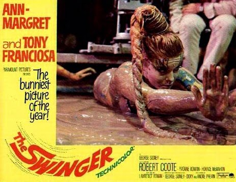 Ann-Margret in The Swinger (1966) RARE on DVD