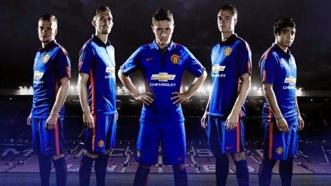 Jersey Terbaru Manchester United 2014-2015