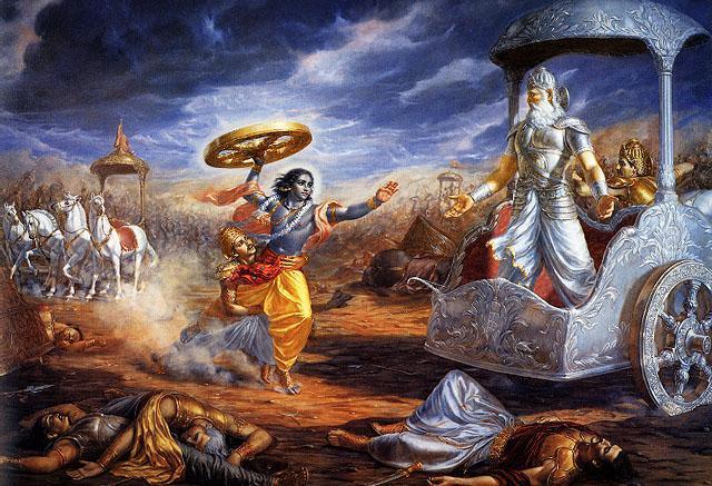 krishna and ang mahabharata ang