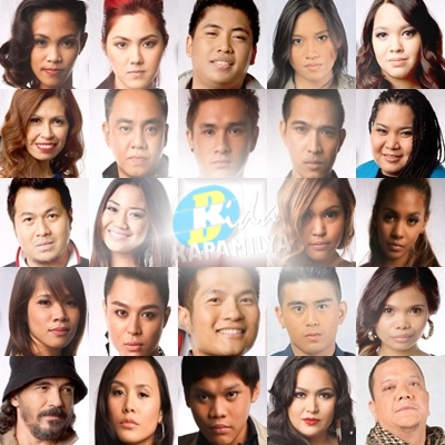 The Voice of the Philippines Top 24: Angelique, Isa, Myk, Lee Grane, Talia and Paolo of Team Bamboo | Eva, Junji, Maki, Morissette, Klarisse and Yuki of Team Sarah | RJ, Darryl, Diday, Kimpoy, Radha and Mitoy of Team Lea | Tristhan, Cora, Penelope, Jessica, Thor and Janice of Team Apl