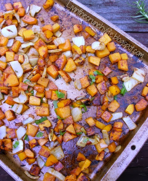 Balsamic Roasted Butternut Squash and Fennel