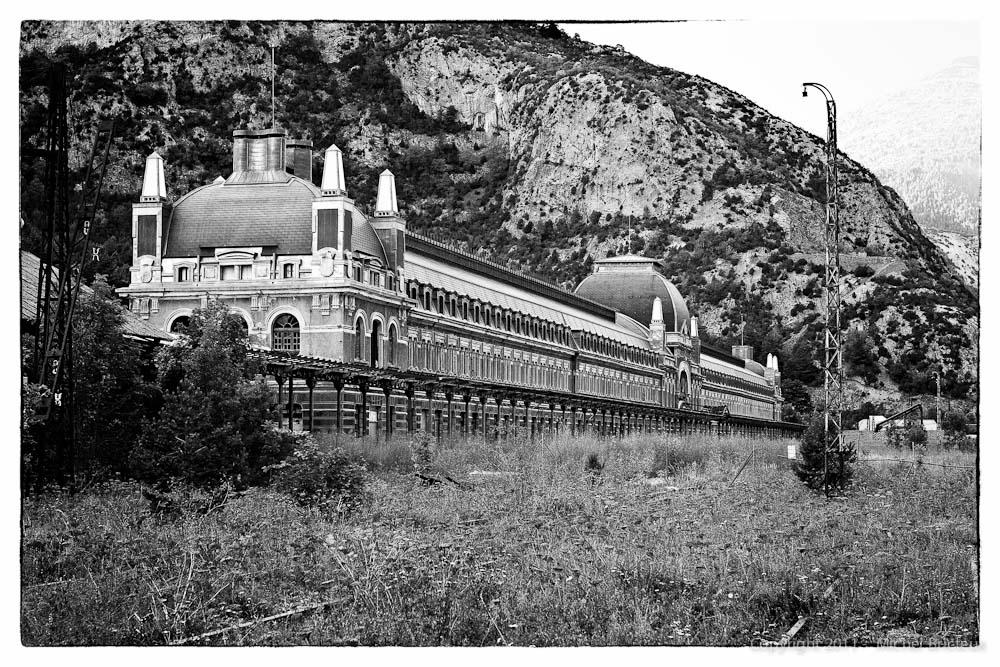 Ferrocarril : Estación Internacional de Canfranc