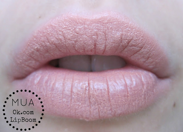 MUA lipboom ok.com ok.com swatch