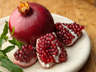 Pomegranate healthy fruit