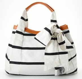 Nautical Bow Tote