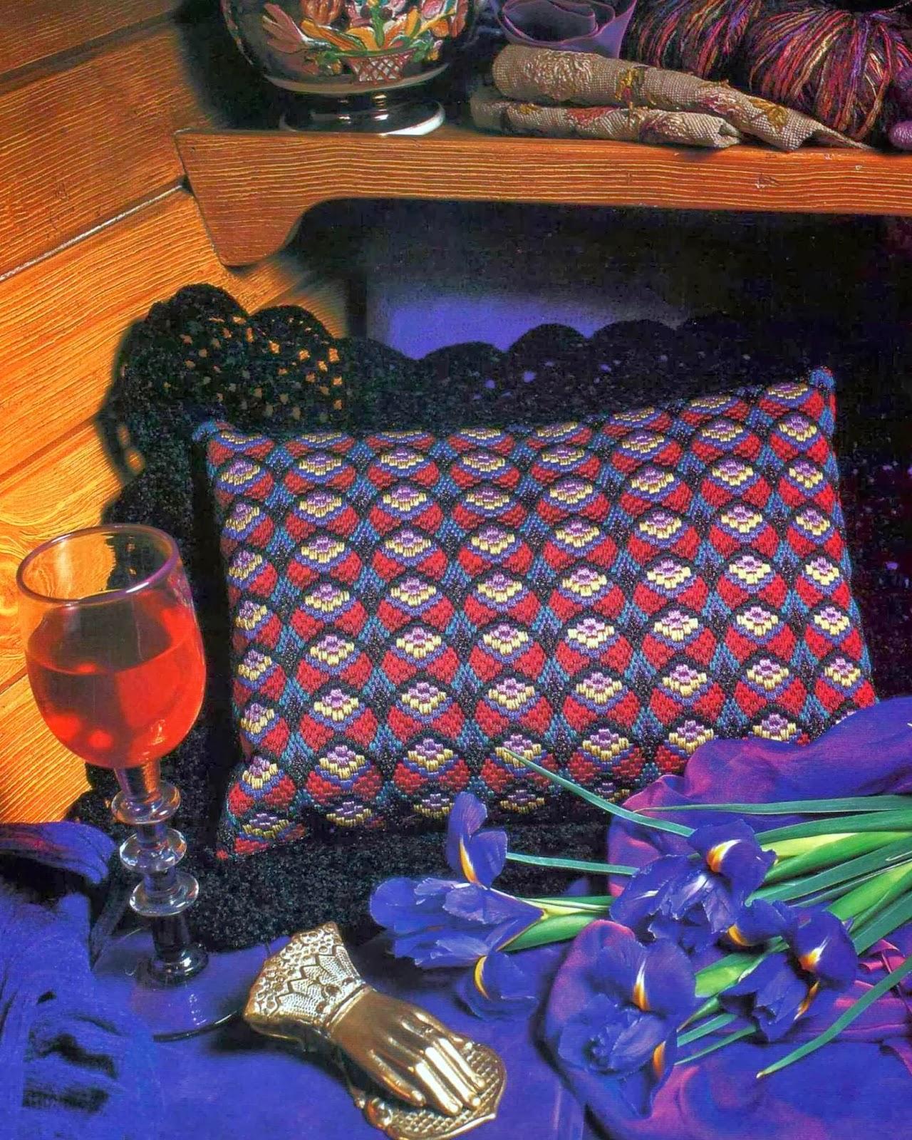 Милые сердцу штучки вышивка барджелло 47
