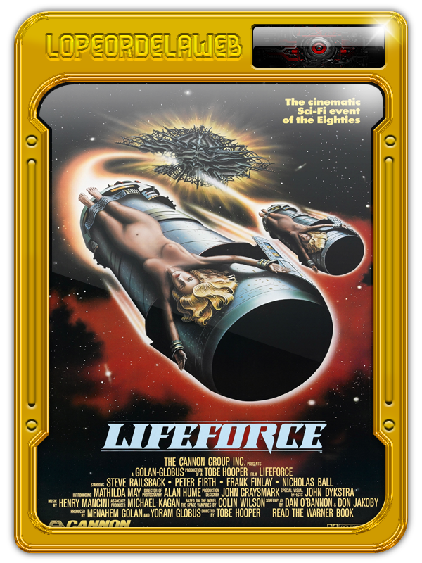 Lifeforce (1985) | Fuerza Vital  720p, Dual, Mega, Uptobox