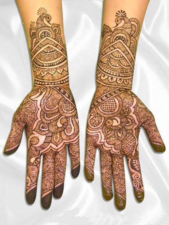 Mehndi Hand Full : Full hand mehndi desings