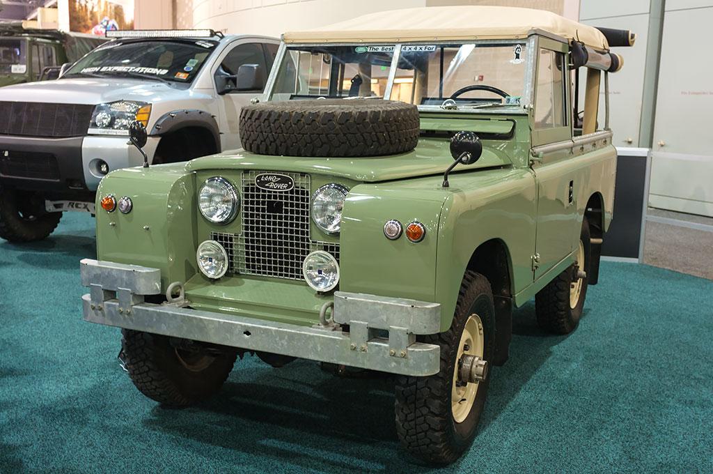 Ivar Rademaker's 1963 Land Rover