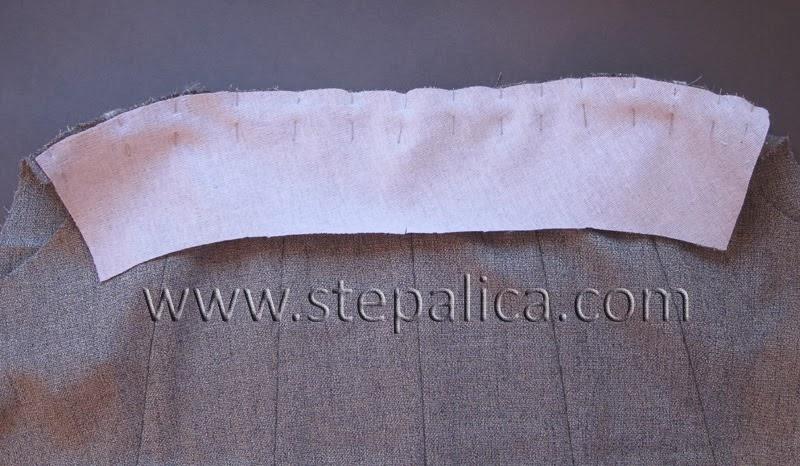Šivenje Zlata suknje: #9 sastavljanje suknje