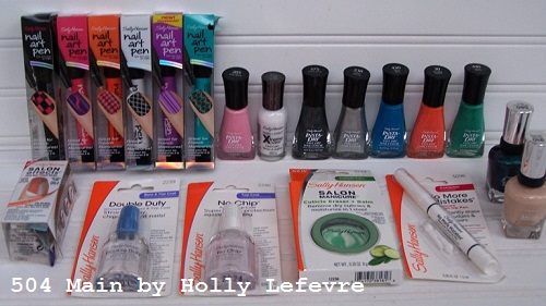 Sally Hansen Runway Nails