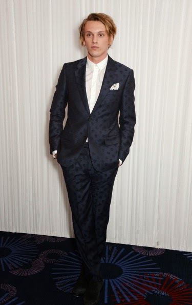 Jamie Campbell Bower in Alexander McQueen - Jameson Empire Awards 2014