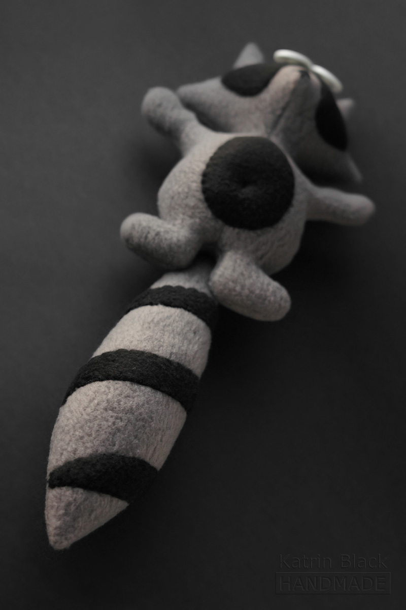 Handmade toy - Coon.