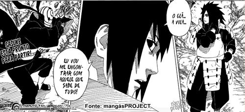 Print da Pagina 14 do Mangá do Naruto 592