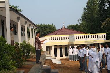 Pembangunan Istana Yatim Indonesia tahap 1 yg sdh selesai, 16 Agustus 2012