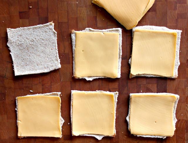 Pão com queijo enrolado