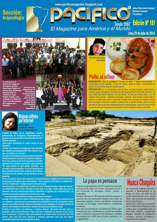 Revista Pacífico Nº 181 Arqueología