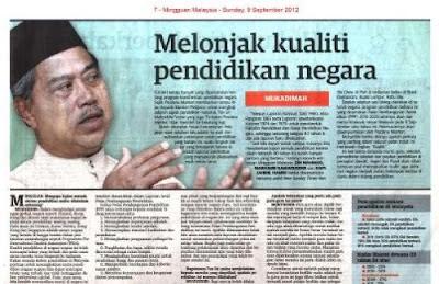 Guru Akan Jadi Profesion Berprestij & Elit di Malaysia. Beban Guru