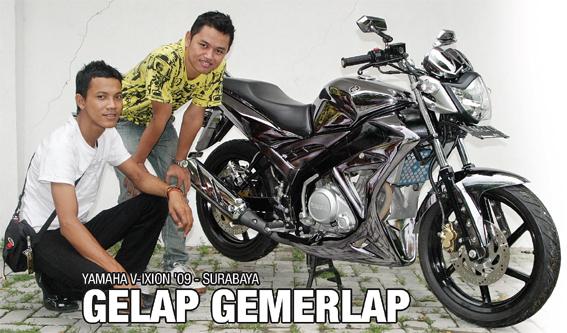 Yamaha V-Ixion '09 : Gelap Gemerlap