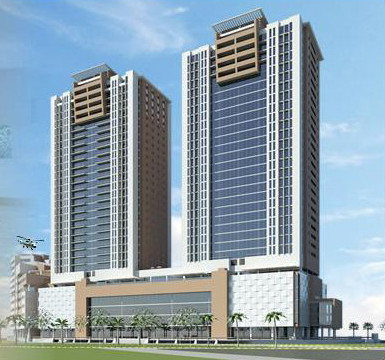 Artists rendering of rakeen towers