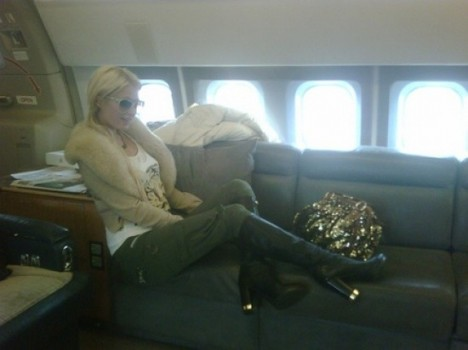 Chatter Busy Paris Hilton Private Jet