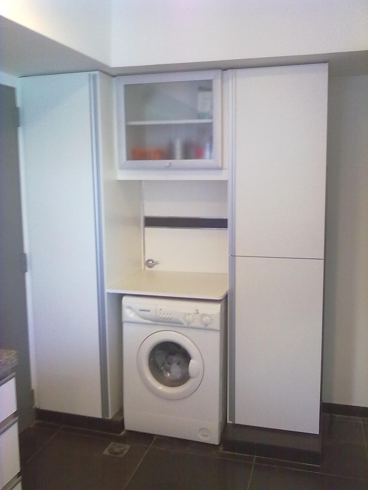 Muebles a medida tandil amoblamiento cocina y lavadero for Diseno lavadero