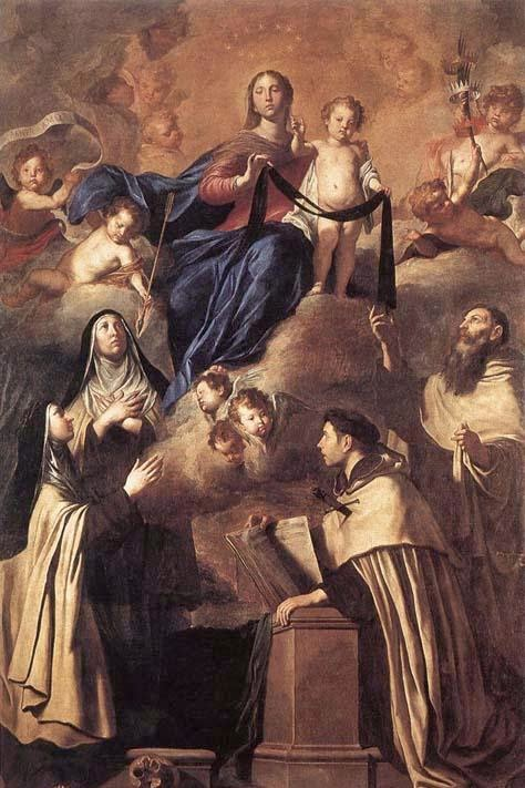 Our Lady of Mount Carmel and Carmelite Saints