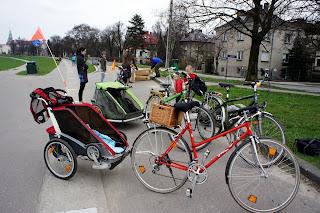 wózek rowerowy chariot i croozer dla dzieci
