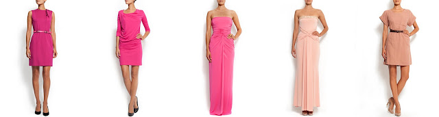 Pink Dresses Fushia Mango Rose Robe BFrP6qBw