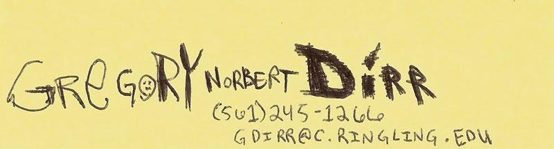 Gregory Norbert Dirr
