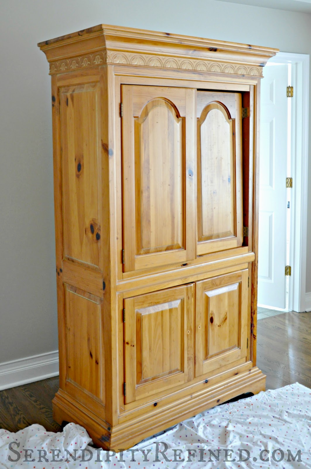 Pine Bedroom Armoire