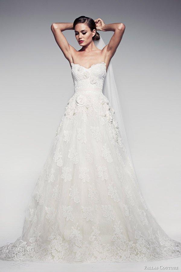 Maravillosos vestidos de novias | Colección Pallas Couture