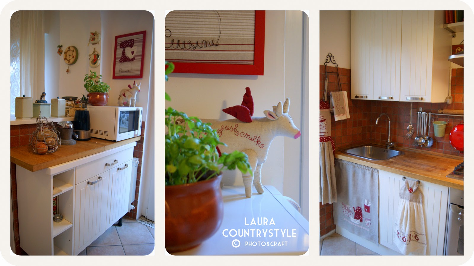 Laura country style my home kitchen for Country style kitchen b q