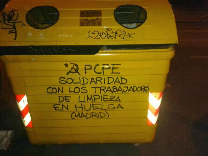 [PCPE-CJC] Trabajadores de limpieza y su lucha obrera en Madrid  IMG-20131107-WA0002
