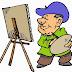Painter Kids Coloring Sheet