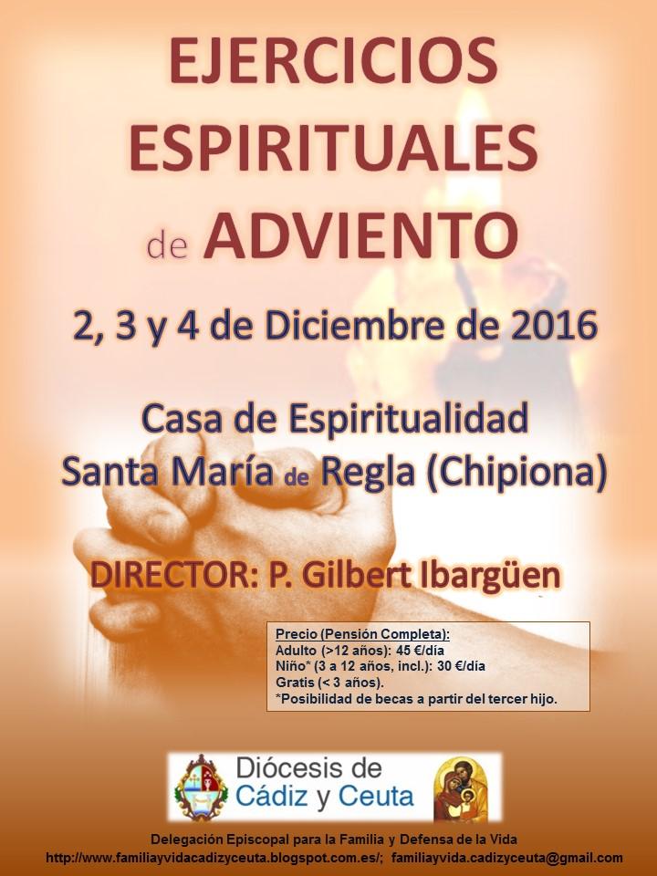 EJERCICIOS ESPIRITUALES de ADVIENTO