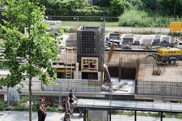 Baustelle PAX IN THE CITY, Wohnhaus, Bernauer Straße 67, 13355 Berlin, 13.07.2013