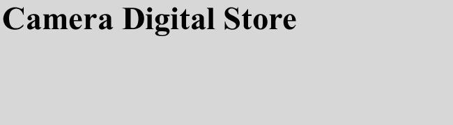 camera digital store