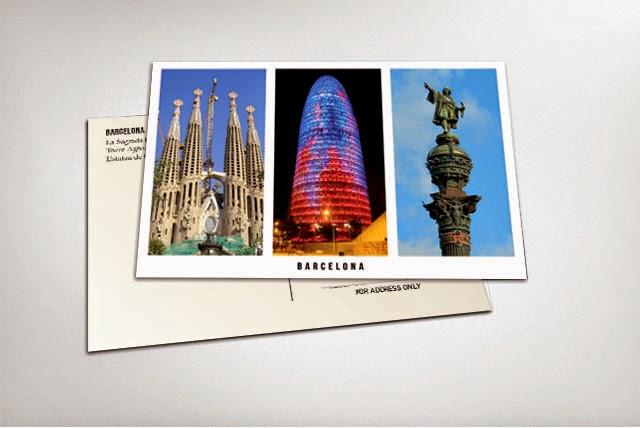 diseñar una postal en Gimp