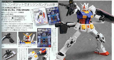 G.F.F. Metal Composite RX78-02 Gundam [The Origin]