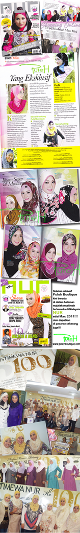PutehBoutique Collection On Nur Magazine
