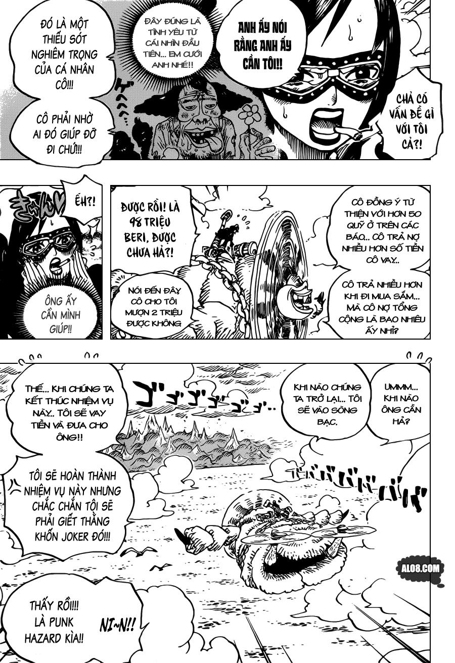 One Piece Chapter 692: Những sát thủ từ Dressrosa 015