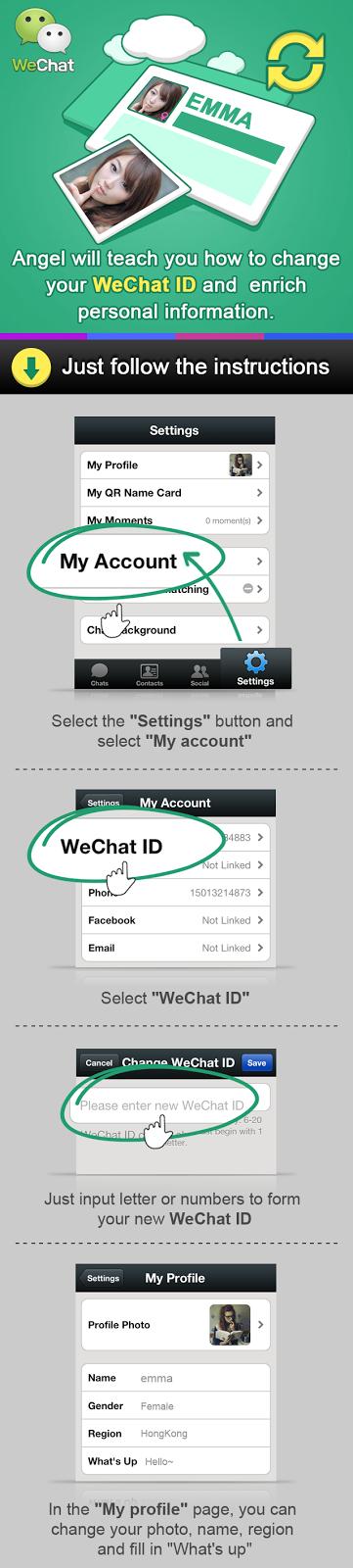 Cara Mengubah WeChat ID
