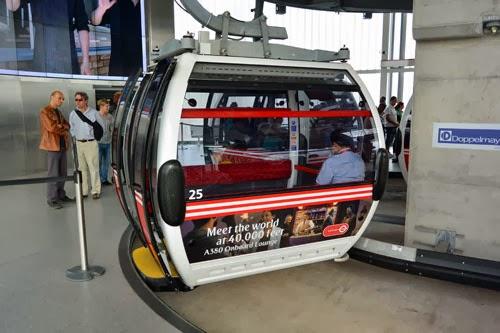 Emirates Greenwich Peninsula Station gondola
