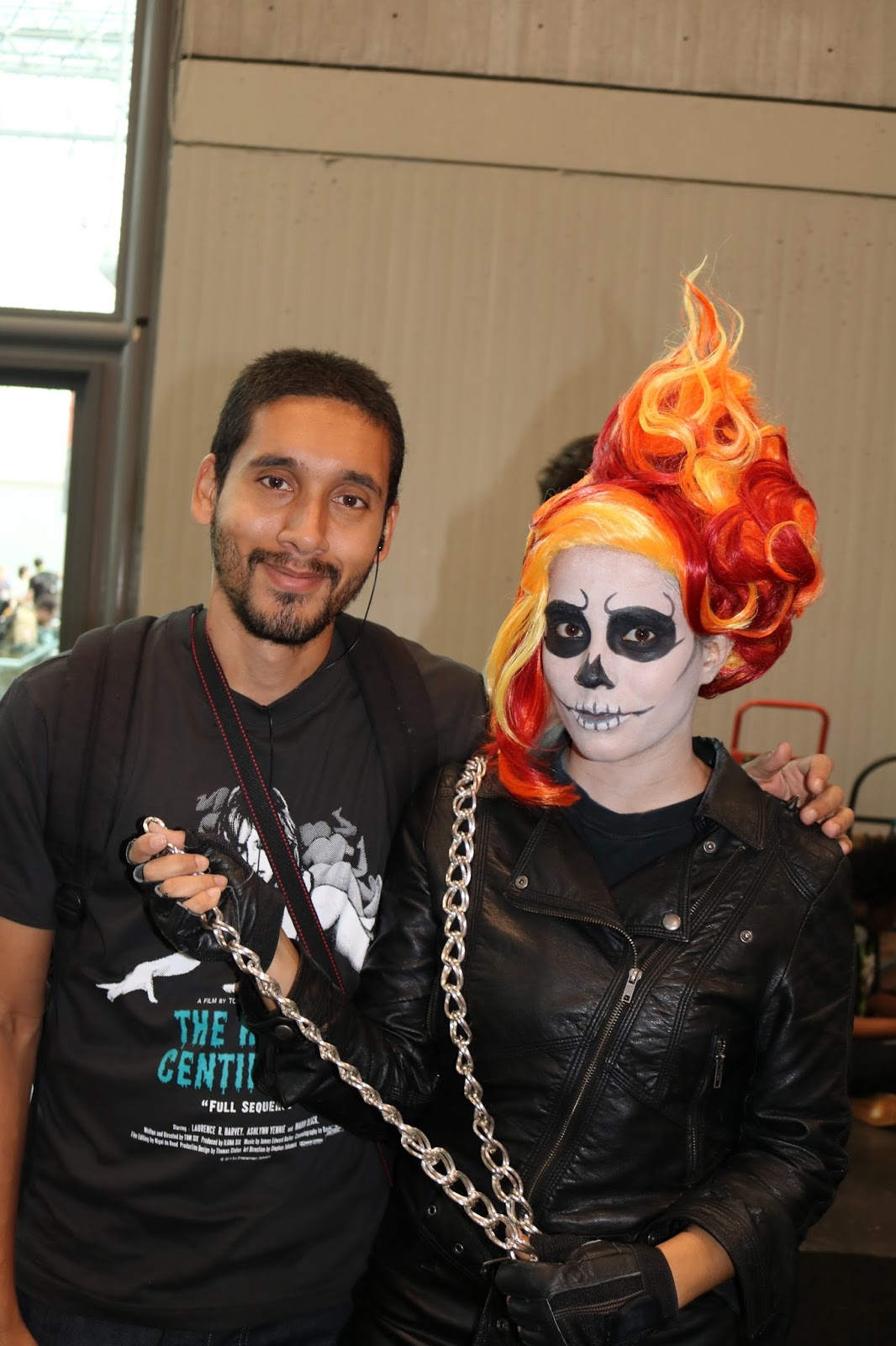 Ghost rider cosplay at new york comic con 2015 nubias nonsense you might be asking yourself how this cosplay costume came to be well let me take you on a little journey it all started out with this young lad in the solutioingenieria Gallery