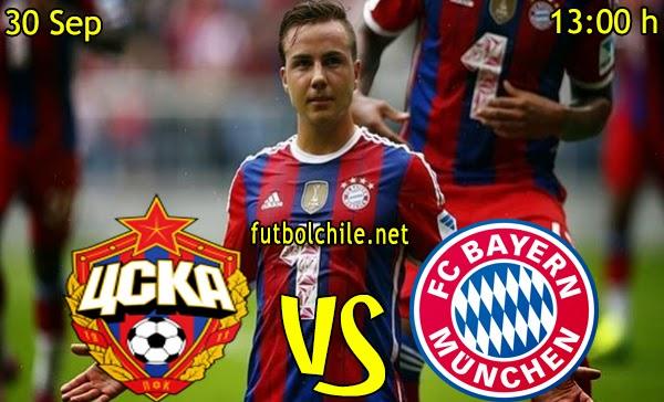CSKA Moscu vs Bayern Munich - Champions League - 13:00 h - 30/09/2014