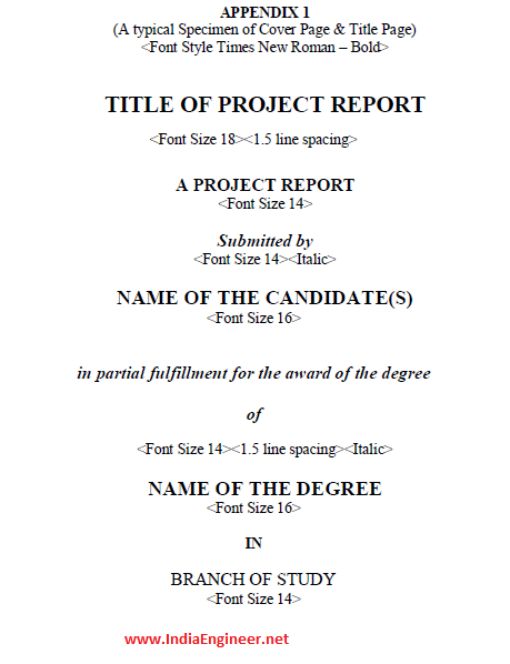 anna university final year b e b tech engineering project report